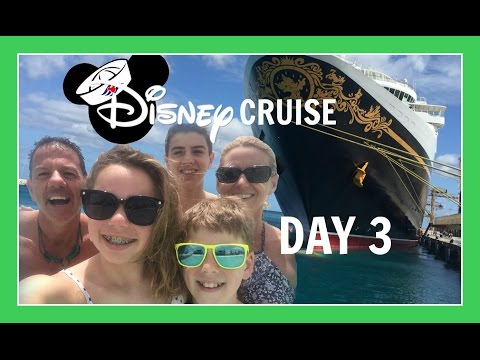 DISNEY CRUISE VACATION | DAY 3: BEACHIN' IN BARBADOS | Flippin' Katie