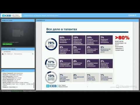 Критерии оценки эффективности деятельности руководителя - вебинар