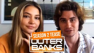 Chase Stokes & Madelyn Cline on What to Expect in Season 2 of Outer Banks