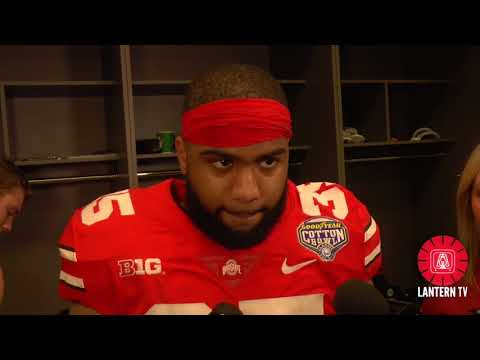 Cotton Bowl: Ohio State LB Chris Worley speaks after his team's 24-7 win over USC.