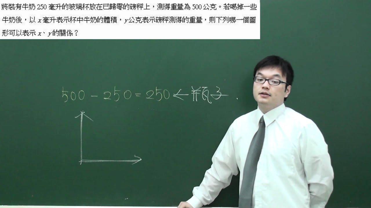 謝氏數理國中總複習(數學)基測99.2.30 - YouTube