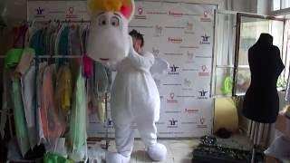 Как одевать костюм ростовую куклу Муми Тролля | Пошив ростовых кукол на заказ(, 2016-07-16T09:36:46.000Z)