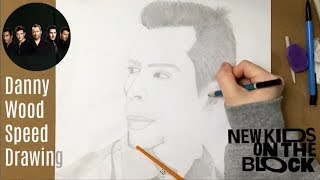 Danny Wood Speed Drawing