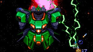 Super Star Soldier - Hardest Mode - LongPlay - PC Engine - TurboGrafx-16 - Shmups - STG