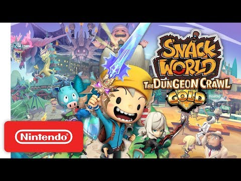 snack-world:-the-dungeon-crawl---gold-announcement-trailer---nintendo-switch