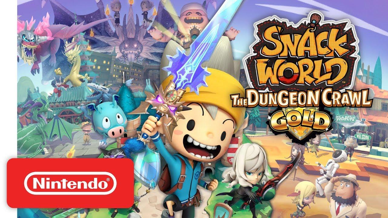 Announcement Trailer για το SNACK WORLD: The Dungeon Crawl - Gold