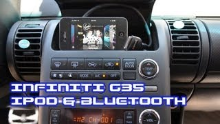 Infiniti G35 IPOD & BLUETOOTH, iSimple PAC PXAMG A2DP AVRCP Streaming by AutoToys.Com thumbnail