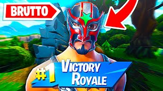 "I HAVE A REAL VITTORY WITH THE OUTFIT MORE BRUTTO OF FORTNITE!! ""I don't believe it"""