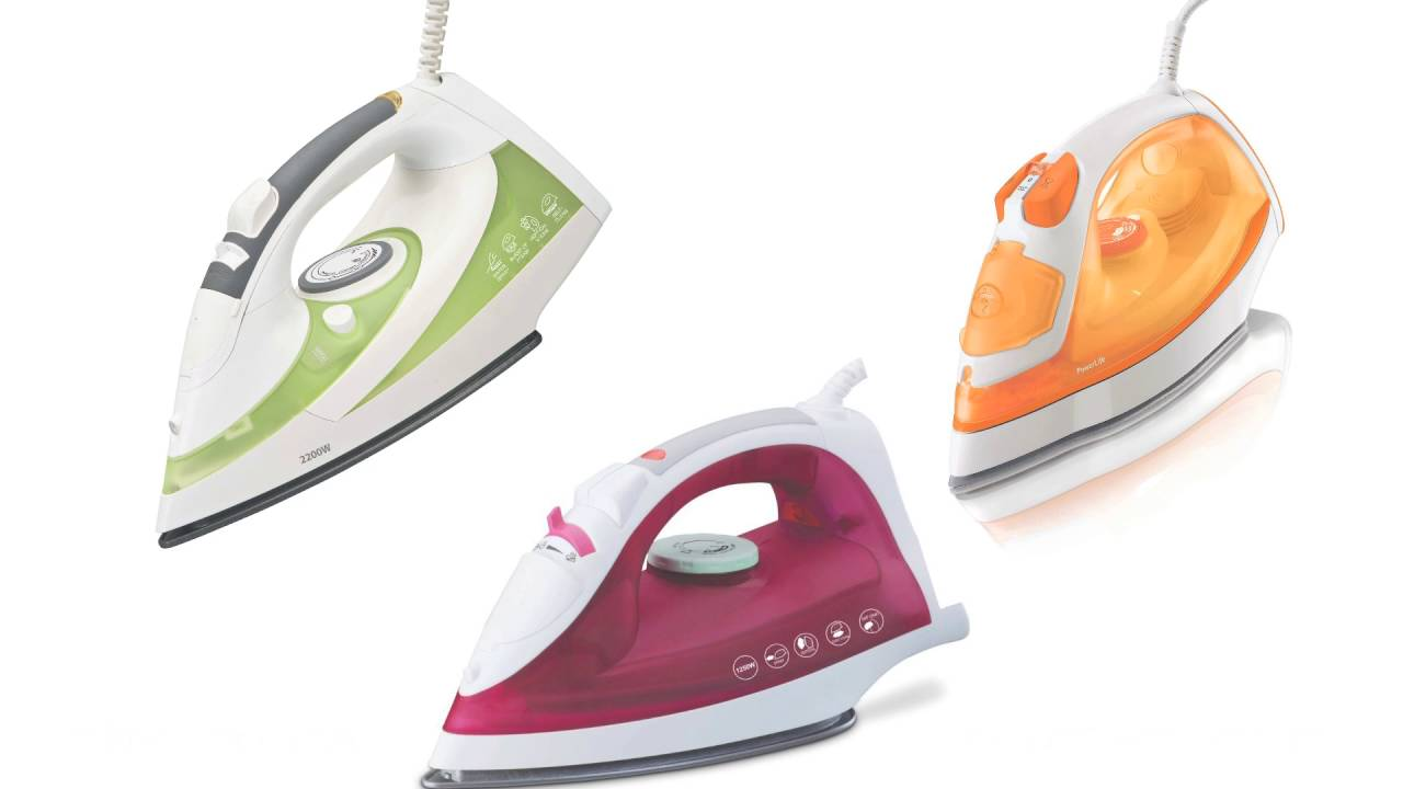 Usage Of Electric Irons ~ How to use electric iron youtube