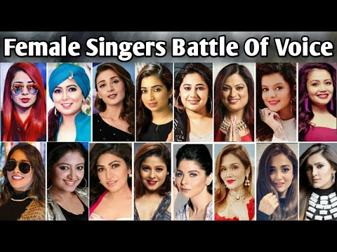 Real Voice Without Autotune Female Singers Battle Of Voice || MUZIX