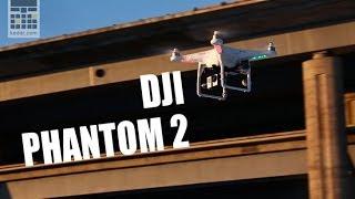 Квадрокоптер DJI PHANTOM 2 - дрон 18+ - обзор от keddr.com