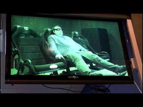 Мужика вшторило в 5D-кинотеатре