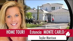 New Homes Windermere Winter Garden Florida Monte Carlo Model at Estancia by Taylor Morrison