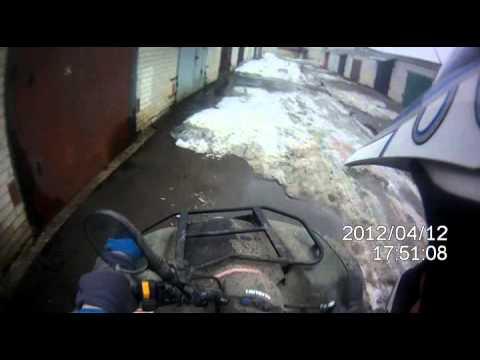 Suzuki Ozark 250 snow зимой