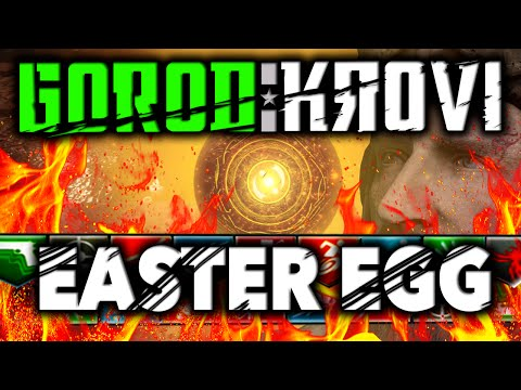 """""""GOROD KROVI"""" EASTER EGG FULL TUTORIAL / GUIDE - Black Ops 3 Zombies Easter Egg Guide"""