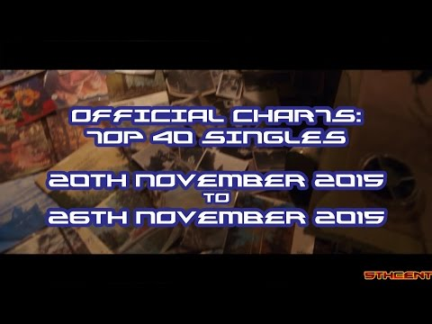 Official Charts (UK): Top 40 Singles (20th November 2015 - 26th November 2015)