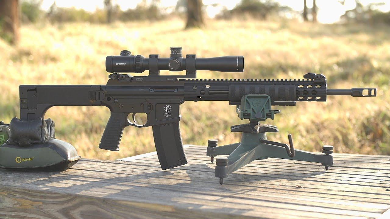 Troy Pump Action Ar 15 Youtube Gun Shop Parts O Remington 7600 Schematic List
