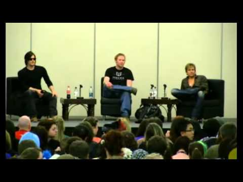 Norman Reedus and Sean Patrick Flanery at the Calgary Fan Expo