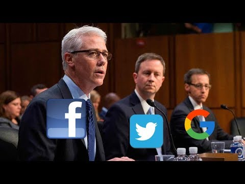 MUST WATCH: Officials from Facebook, Twitter and Google GRILLED by Senators on Russian Propaganda