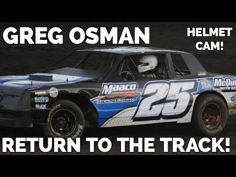 Return to the Track! Heat Race from Macon Speedway!