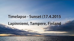 Timelapse Lapinniemi, Tampere, Finland (17.4.2015)
