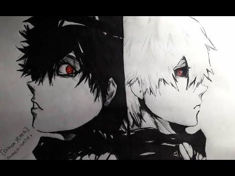 dibujo-de-kaneki-/speed-drawing---kaneki-ken-(tokyo-ghoul)