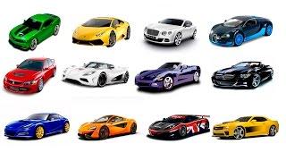 Видео-для-детей-Машинки-Учим-марки-video-for-kids-learn-cars-brands
