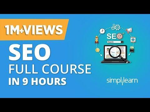 SEO Tutorial For Beginners    SEO Full Course   Search Engine Optimization Tutorial   Simplilearn