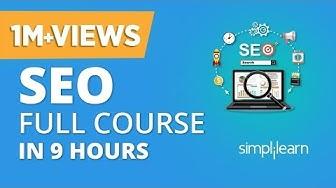 SEO Tutorial For Beginners  | SEO Full Course | Search Engine Optimization Tutorial | Simplilearn