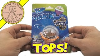 Top Toupie Dollar Store Wizzzer Style Top - Flashing Colors & Assorted Light Designs