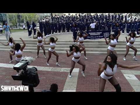 Jackson State JSettes And Marching Band - Circle City Classic Pep Rally 2019