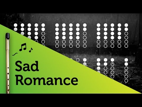 Sad Romance on Tin Whistle D + tabs tutorial