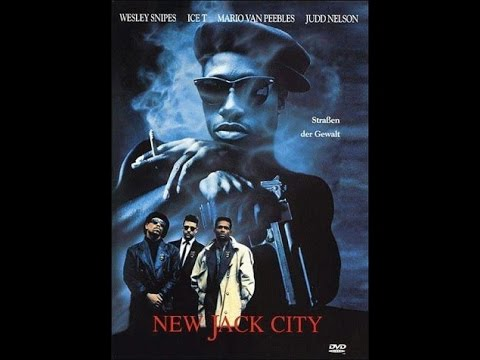 New Jack City (1991) Wesley Snipes Ice-T By Rmj Movie Reviews Inc.
