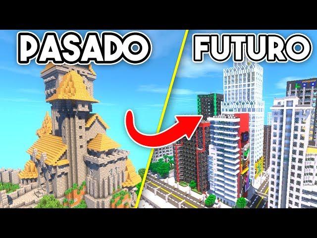 ¿¡VIAJAMOS 1000 AÑOS AL PASADO Y AL FUTURO DE MINECRAFT!? | MINECRAFT TROLL