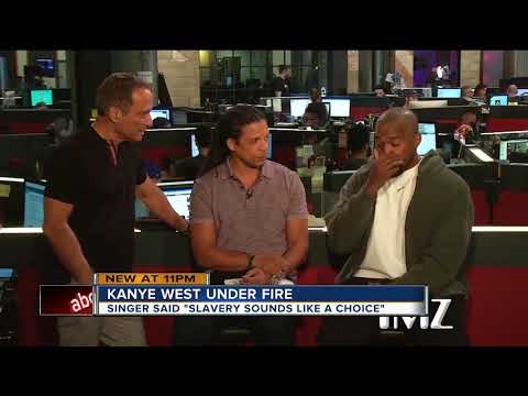 Kanye West calls slavery a 'choice'