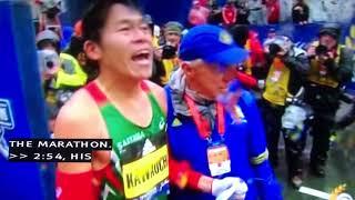 川内優輝 ボストンマラソン2018 ゴールライン 川内優輝 検索動画 23
