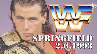 WWE WWF Springfield, MA February 6th, 1993 : BW History of New England Wrestling