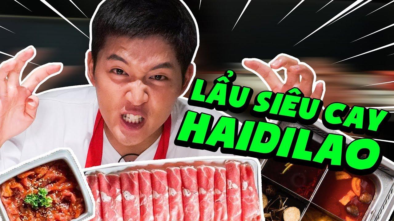 TIÊU TIỀN TRIỆU ĂN LẨU SIÊU CAY TỨ XUYÊN | REVIEW HAIDILAO CHINESE RESTAURANT | REVIEW NHÀ HÀNG