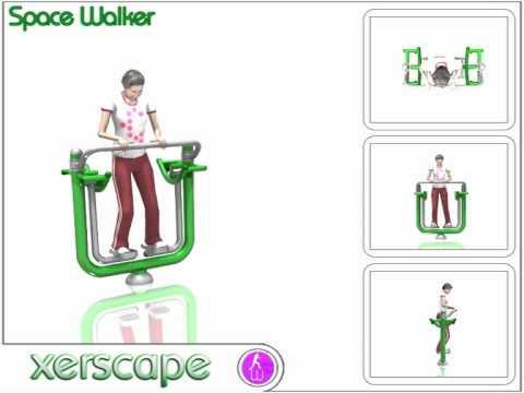 Outdoor Gym Equipment - Space Walker