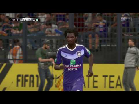 FIFA 17   Anderlecht vs Celtic   Champions League Group Stage 2017/18   Full Gameplay PS4