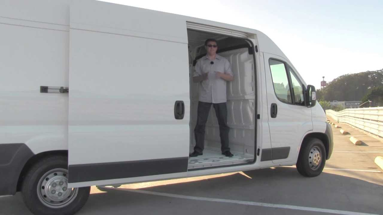 2013 Fiat Ducato Cargo Van Review And Road Test Youtube