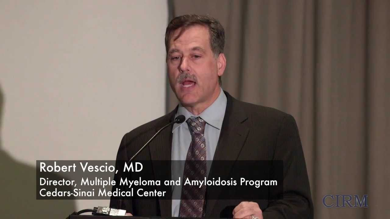 Spotlight on Amyloidosis and Stem Cell Research: Robert Vescio MD