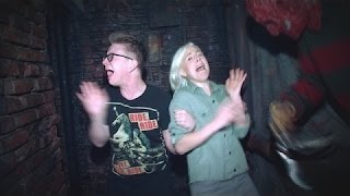 'The Tyler Oakley Show': A Haunted House with Hannah Hart DAILY NEW TV