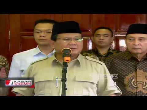 Tanggapan Prabowo Mengenai Ijtima Ulama GNPF