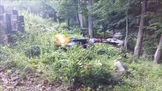 【衝撃映像】10代の少年が自作した銃を撃つドローン