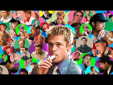 15 Minutes Of Brad Pitt Eating