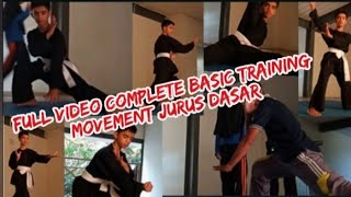 FULL VIDEO COMPLETE BASIC TRAINING MOVEMENT JURUS DASAR