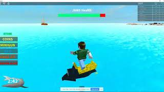 Roblox Jaws - Crazy Dad and Son Funny Video