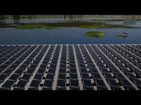 World's Largest Floating Photovoltaic Power Plant Starts Operation in East China