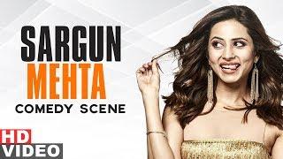 Top 10 Comedy Scenes Of Sargun Mehta | Qismat | Ammy Virk | Speed Records